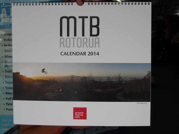 2014 Roturua Mountain Biking Calender