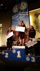 annika 2w podium